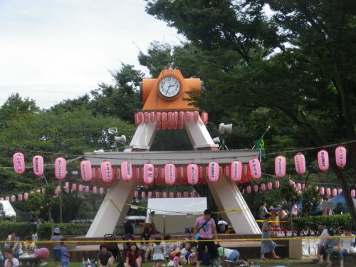亀戸中央公園で江東区民まつり亀戸地区夏まつり大会