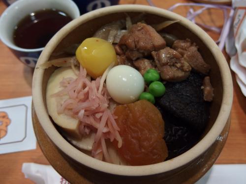 エクシブ軽井沢出発、おぎのやの昼食