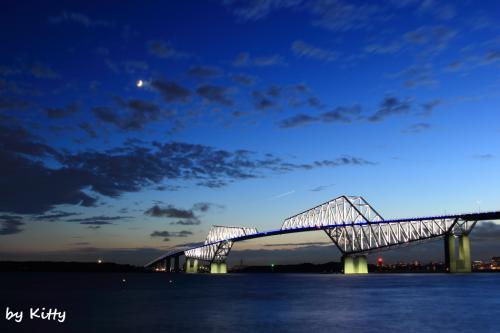 恐竜橋が輝く時☆東京ゲートブリッジ