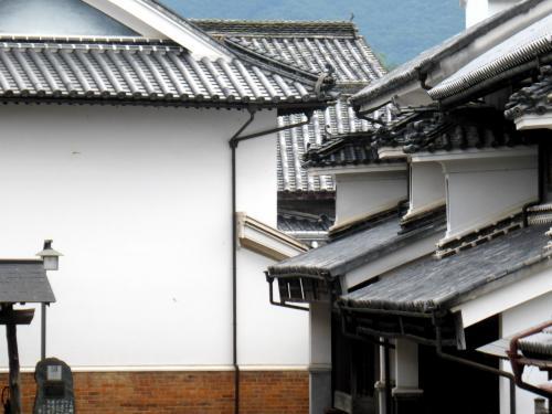 家族旅行2014夏 :大塚国際美術館と四国東南海部灘沿岸を室戸崎まで07うだつの町並み