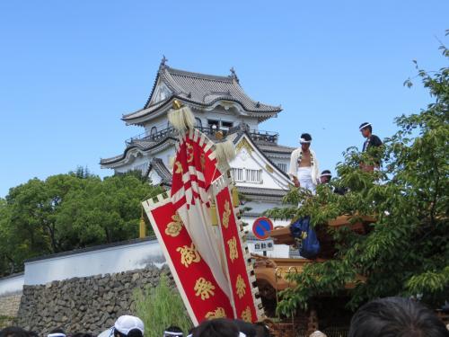 チャリで行く、岸和田だんじり祭り