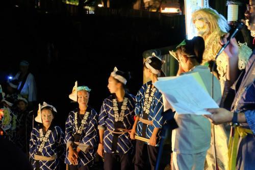 第9回 王子狐の夕すず美 2014 音無親水公園 舞台 下