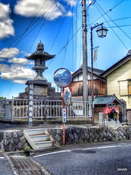 カメラをポケットに初瀬街道(三重県名張市から伊賀市)を歩く②