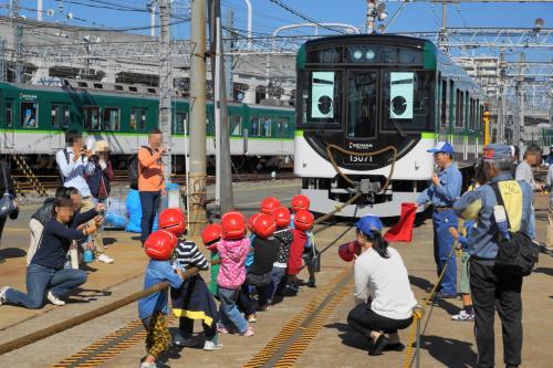 京阪電車「ファミリーレールフェア 2014」 イベント三昧の秋の一日
