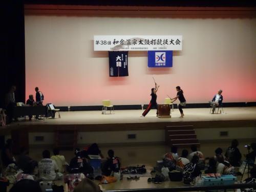 片山津温泉から和倉温泉へ<和太鼓に魅かれて>