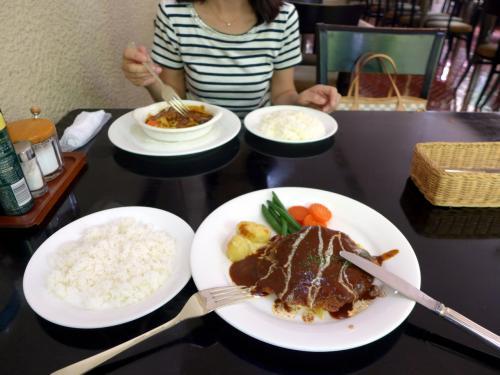 06.妻と二人のエクシブ箱根離宮1泊 レストラン ブライトの昼食