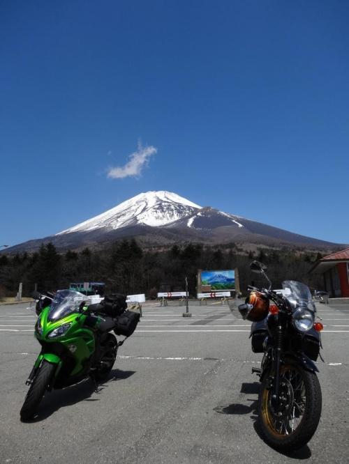 富士山_Mt Fuji 霊峰富士!日本最高峰の道路をツーリング