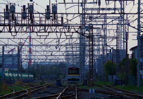 京浜工業地帯の足、鶴見線乗車記