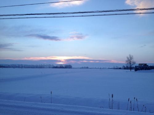 南幌町の『初日の出』2015