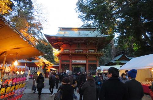 鹿島神宮に初詣 [2015]