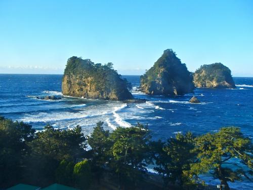 新年初旅は、西伊豆 『堂ヶ島 』 ☆温泉ま~ったり家族旅♪~