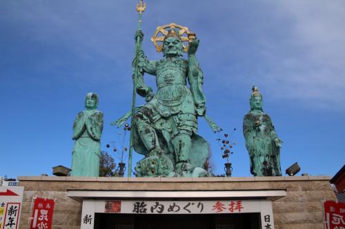 日本一の毘沙門天がある一乗院でも初詣