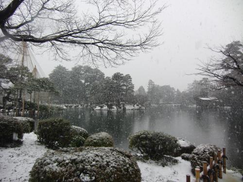 今話題!冬の金沢へ♪ (1日目 近江町市場・兼六園・尾山神社)