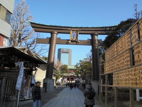 富岡八幡宮に行ってきた。