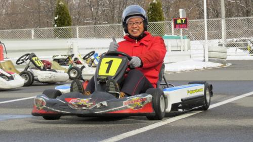 安曇野スノートレッキング& F1 PARKの旅