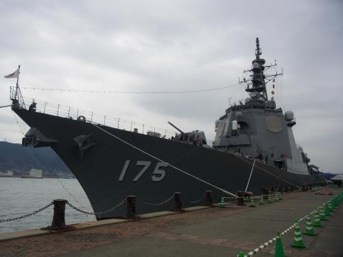 護衛艦「みょうこう」見学(下関)