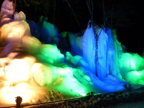 やっと行けたわ~\(^o^)/奥飛騨温泉郷  雪景色・雪見風呂・飛騨牛・凍った滝~平湯温泉~