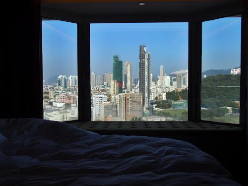3泊を深センで宿泊し、1泊を香港・旺角で宿泊しました