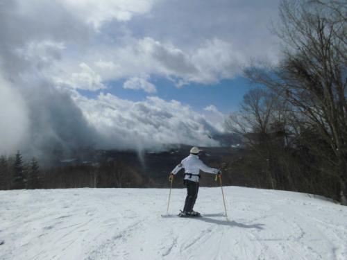 飯綱高原で何年かぶりのスキー そして善光寺灯明祭りに行きました。①