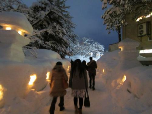 上杉雪灯籠まつり2015 in米沢