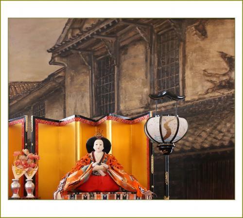 Solitary Journey [1521] 歴史ある白壁の町並みによく似合う'柳井おひなさま巡り'<町並み資料館・佐川醤油・西蔵>山口県柳井市