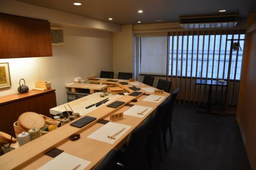 銀座 すし処 志喜さん 隠れ家のような場所で江戸前寿司を堪能 2015年3月
