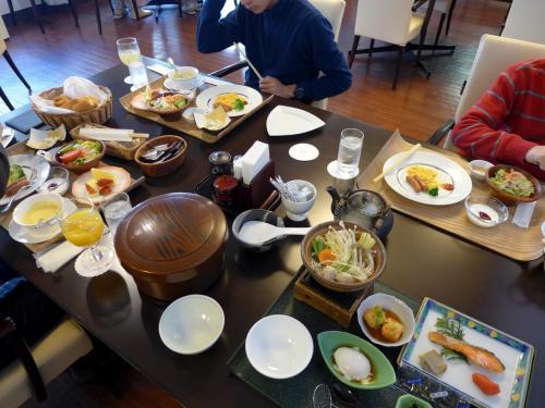 04.節分明けの箱根1泊 ダイヤモンド箱根ソサエティ レストランの朝食