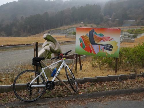早朝の大津・石山周辺は寒かった、岩間寺にチャリで行って来ました