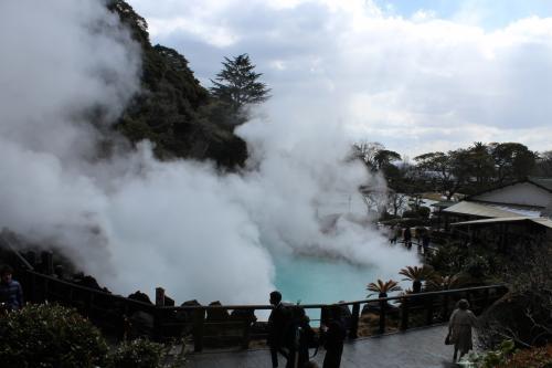 マイルを使って大分まで。湯布院、別府で温泉と観光を楽しんできました。3日目は鉄輪温泉、地獄めぐり