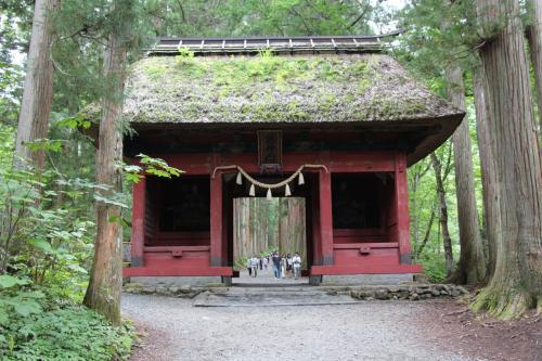 2014 夏とは思えない陽気でした!(その3)神秘のパワースポット戸隠神社 (奥社編)