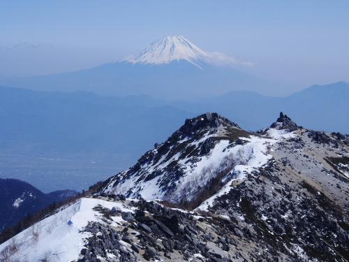 最高の天気 / 雪の鳳凰三山
