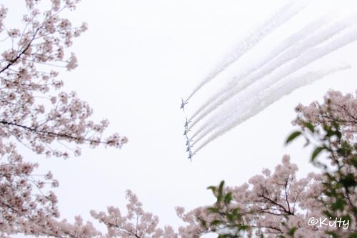 ☆☆桜ブルーインパルス<熊谷基地さくら祭り予行>&越後湯沢の雪山皆既月食☆☆