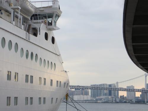 ピースボート オーシャンドリーム号船内見学会