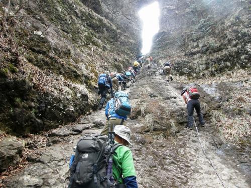 桜を愛でながら奇岩を楽しめる妙義山に登る・・・後篇・石門巡りで下山