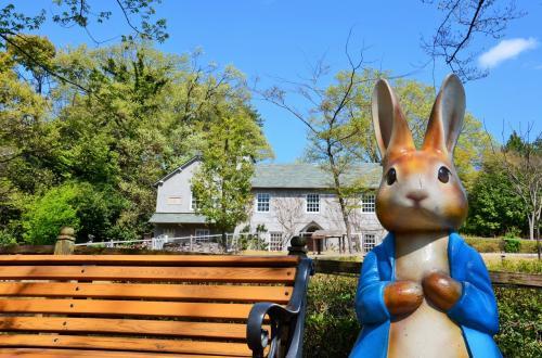 埼玉県 こども動物自然公園でピーターラビットに会って来た オッサンネコの家族旅