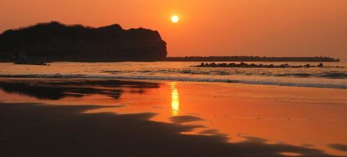 絶景イタンキ浜