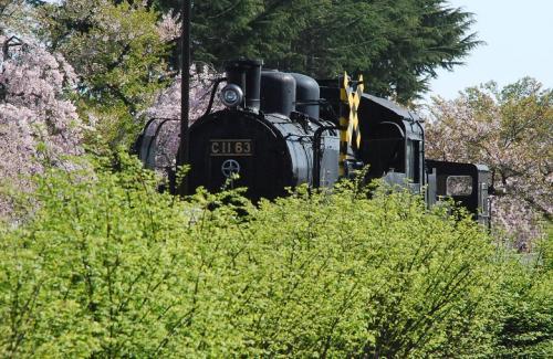 昔、日中線にSLが走っていた喜多方の里を訪ねて(福島)