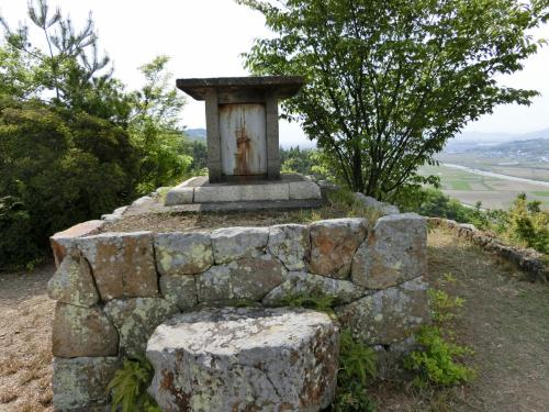 婚礼に行った折に岡山城主発祥の地を散策