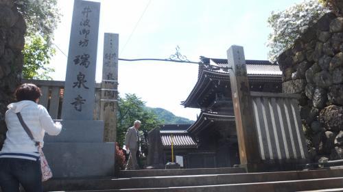 はまってしまった富山への旅。今回は「高岡」・「氷見」・「南砺」・「砺波」を堪能しました。~⑩案外近い砺波駅から南砺市井波。急遽「瑞泉寺」に行きました!