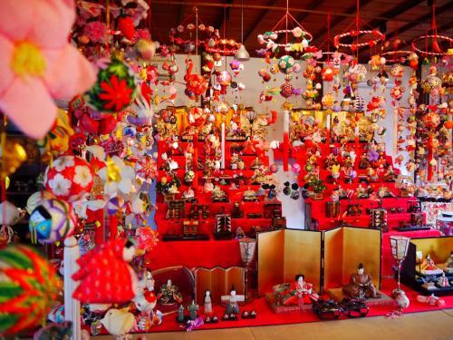 桜満開 柳川雛祭り さげもんめぐり