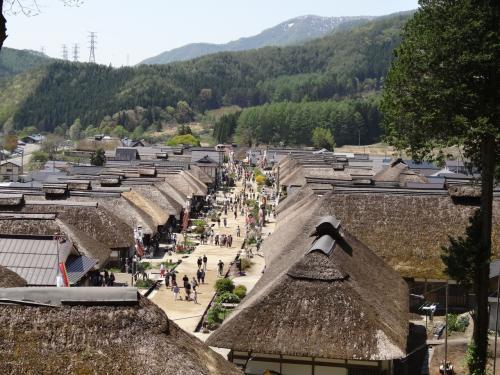 会津ふらり旅②(芦ノ牧温泉・大内宿)