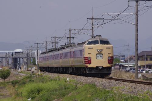 旧国鉄型485系の撮影に両毛線