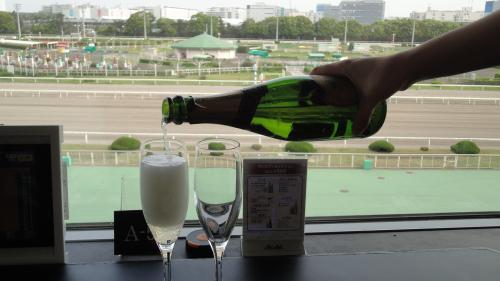 2015年4月 大井競馬場『ダイアモンドターン』で飲み放題♪再び!