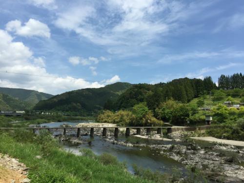 大自然に癒されるGW☆3☆彡沈下橋とフィギュア♪笑