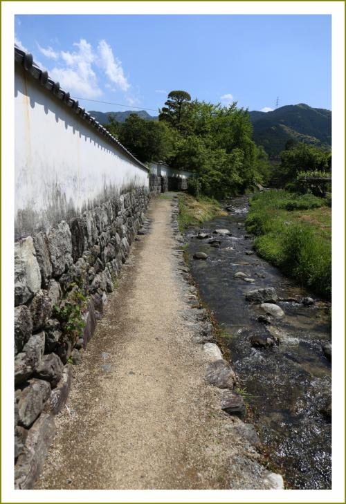 Solitary Journey [1585] 江戸時代を通じて繁栄した城下町には当時の町割が原型として残っています。<城下町・秋月>福岡県朝倉市