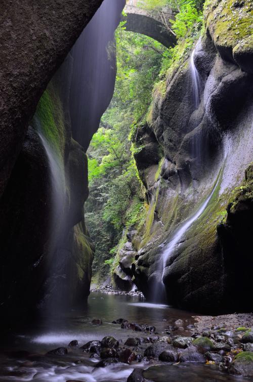 九州の名湯を巡る旅(1) 別府温泉と由布川峡谷