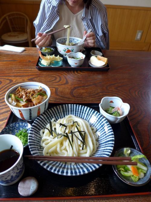 01.讃岐うどん 福梅の昼食