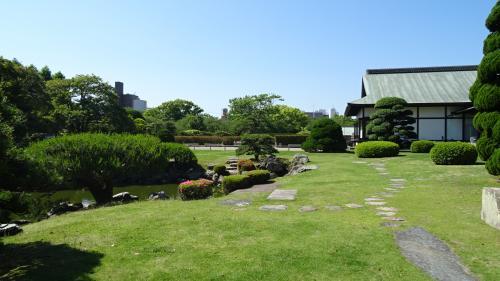 旧徳島城表御殿庭園 観賞 下巻