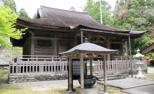 四国最古の国宝豊楽寺薬師堂参拝