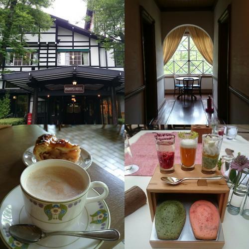 新緑が美しい6月の軽井沢 家族でのんび~りEnjoy ~万平ホテル&スィーツを楽しむ~ (北陸新幹線グランクラス)